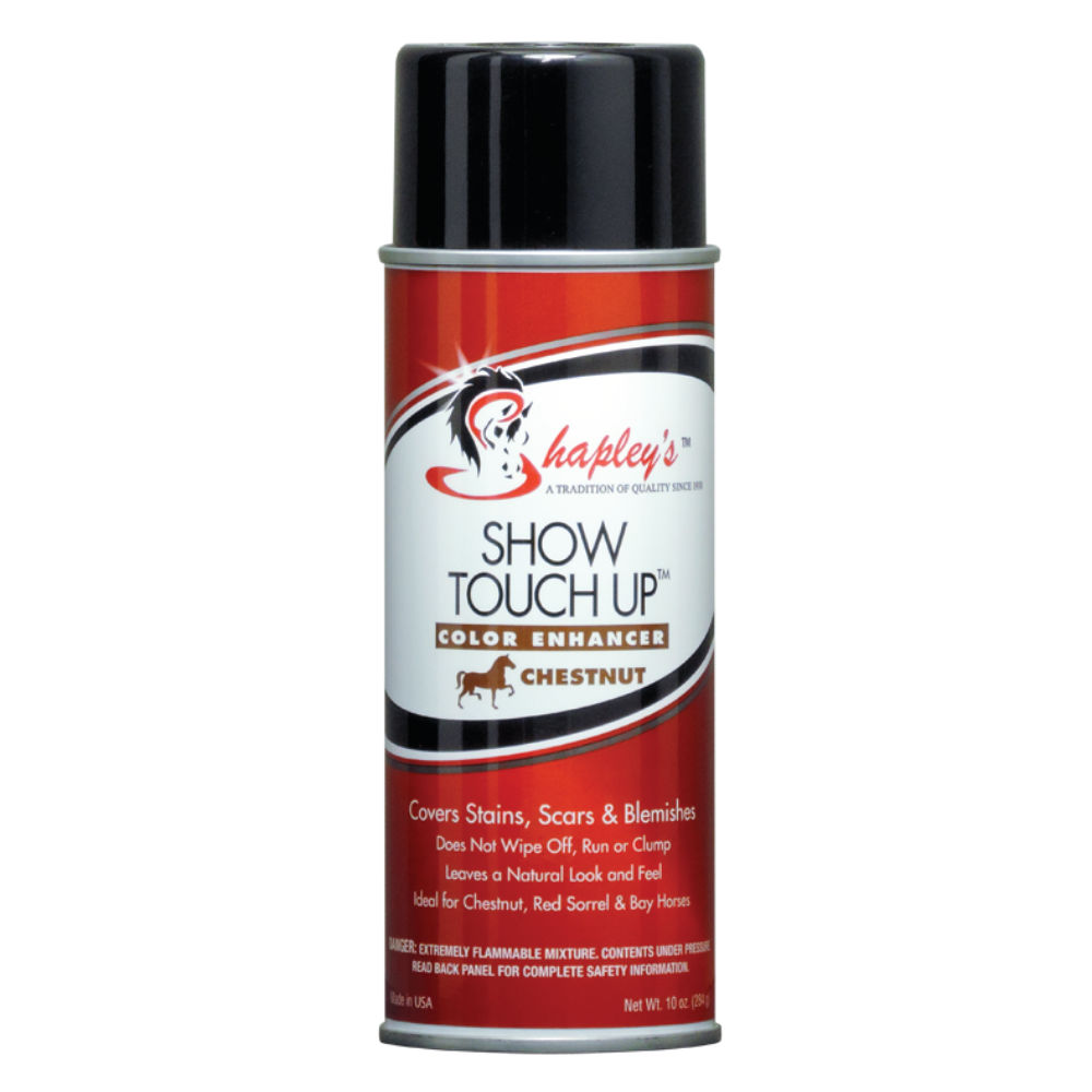 SHAPLEY'S SHOW TOUCH UP CHESTNUT - The Mane Hub