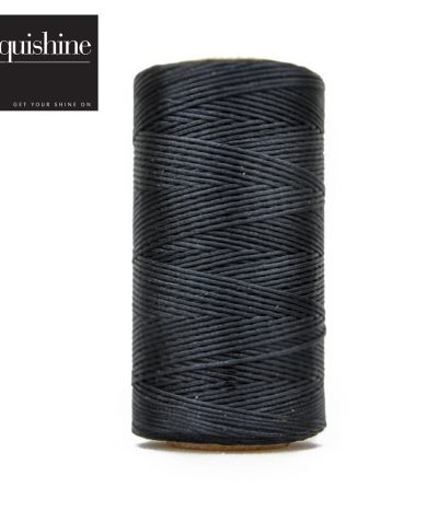 Equishine Flat Waxed Plaiting Thead Black