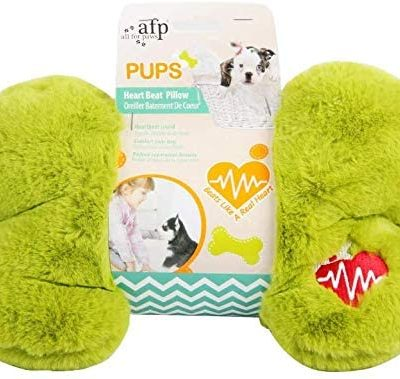 All For Paws Pups Heart Beat Pillow