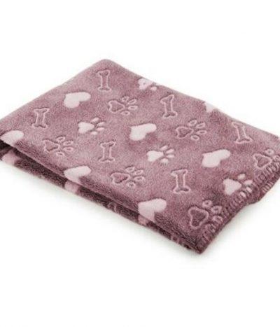 Ancol Sleepy Paws Comfort Blanket Pink