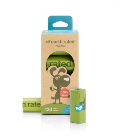 Earth Rated Poop Bags 120 Unscented (8 x 15)