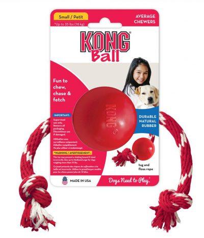 Kong Ball and Rope Small