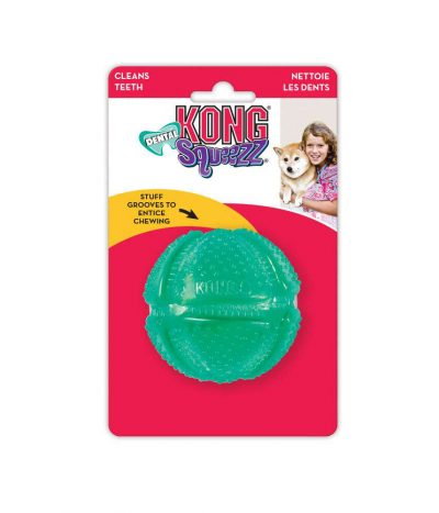 Kong Dental Squeezz Ball Medium
