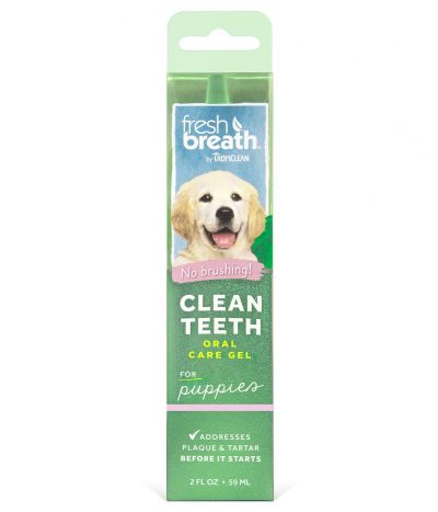 TropiClean Clean Teeth Oral Gel Care For Puppies 59ml